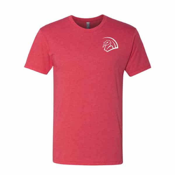 Super Soft Red T-shirt with TurkeyFan logo 1