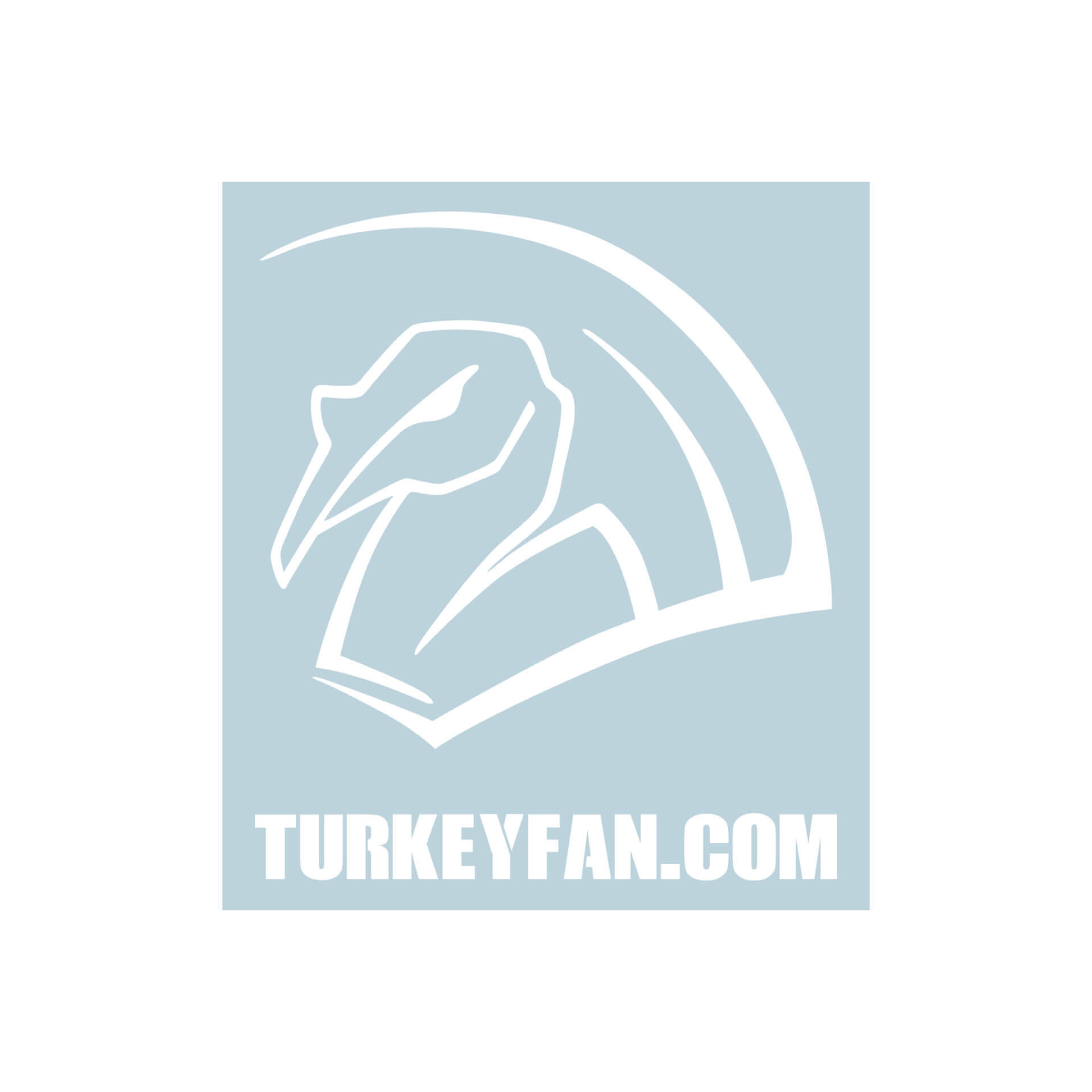 TurkeyFan Decal